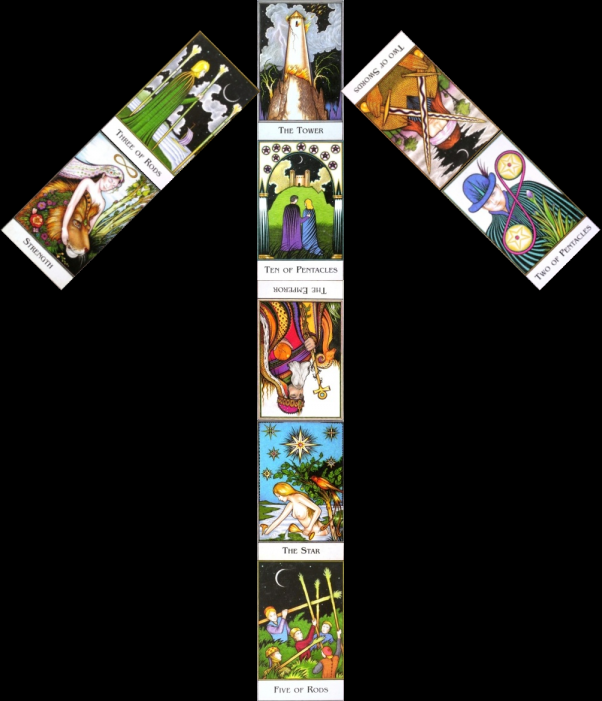Rune & Tarot arrangement