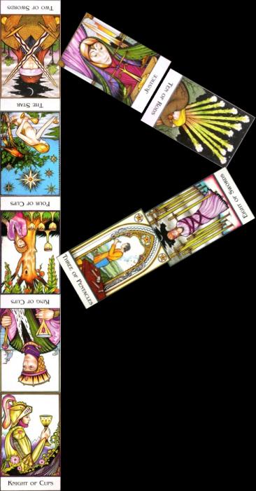 Rune & Tarot arrangement