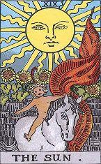 19.太阳 (逆位)