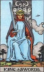 King of Swords (Positive)