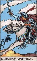 Knight of Swords (Positive)