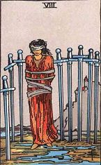 Eight of Swords (Inverse)
