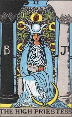 The High Priestess (Inverse)