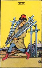 Seven of Swords (Inverse)