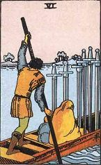 Six of Swords (Inverse)