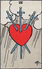 Three of Swords (Positive)