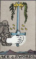 Ace of Swords (Inverse)