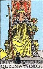 權杖皇后 (正位)