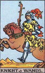 权杖骑士 (正位)