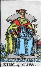 King of Cups (Inverse)