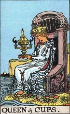 Queen of Cups (Inverse)