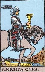 Knight of Cups (Positive)