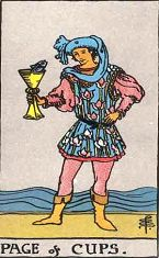 Page of Cups (Positive)