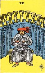 Nine of Cups (Positive)