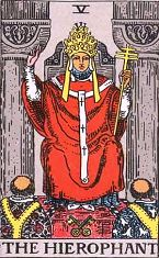 The Hierophant (Inverse)