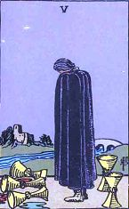 Five of Cups (Inverse)