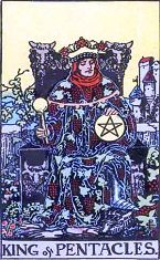King of Pentacles (Inverse)