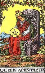 Queen of Pentacles (Positive)
