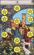 Ten of Pentacles (Positive)