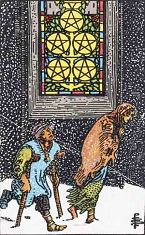 Five of Pentacles (Inverse)