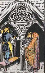 Three of Pentacles (Inverse)