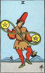 Two of Pentacles (Positive)